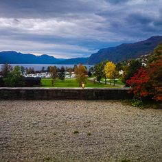 Fall has such nice colours! Picture taken at the Best Western Sauda Fjordhotell in Norway :)
