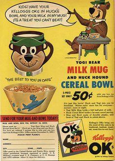 Kellogg's OKs Cereal 1961
