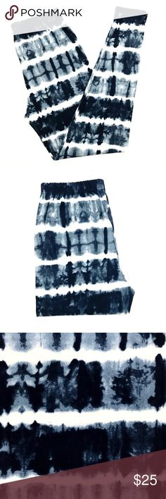 Buttery Soft Navy Blue Tie Dye Leggings Plus Size BUTTERY SOFT NAVY BLUE TIE DYE LEGGINGS  Size: Plus Size (Similar to Tall & Curvy) Numeric Size: 10-18 Waistband: Elastic THESE ARE NOT LULAROE Fabric Blend: 92% Polyester 8% Spandex (Same Blend as Lularoe)  Brand New - Hard to Find Limited Edition Print! Super Soft & Comfy Leggings! Just Like Other Brands!  These ARE NOT LuLaRoe Leggings But Feel Just Like Them!  *Ships Within 24 Hours* *Smoke Free Home*  ~All Prints Are Limited Edition…