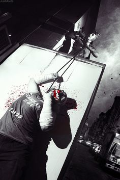 Catwoman from Batman: Arkham City by Cosplayer: Valeriya Darkelf, Photographer: JustMoolti