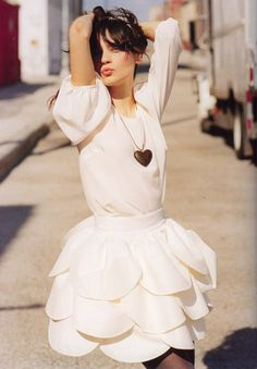 sweet petal skirt