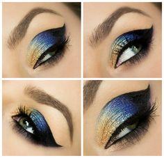 Kosmetyczna Hedonistka: Blog urodowo - lifestylowy | Pielęgnacja włosów | Makeup | Kosmetyki | Moda: MAKIJAŻ ARABSKI KROK PO KROKU SLEEK ARABIAN NIGHTS + PREZENTACJA PALETY.