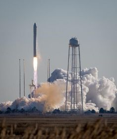 Antares launch 2014