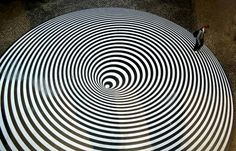 Juxtapoz Magazine | The Work of Bridget Riley #Art #OpArt #OpticalIllusion #Vibration