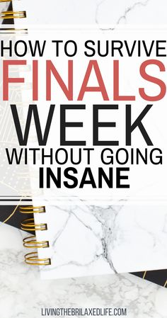 Unfortunately, it's that time of year again. All of that coursework and studying you skimped out on earlier in the semester is finally catching up to you. I've been there, and it's these college finals tips that have gotten me through the last 4 years. Now it's my turn to pass that knowledge on to you. #collegefinals #studying