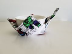 Your place to buy and sell all things handmade Marvel Gifts, Cotton Bowl, Iron Man Captain America, Eating Ice Cream, Microwave Bowls, Baby Pillows, Cozies, Hot Pads, Hulk