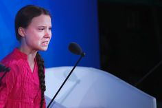 "Teenage climate change activist Greta Thunberg on Monday opened the United Nations Climate Action Summit with an angry condemnation of world leaders for failing to take strong measures to combat climate change. ""How dare you,"" she said. Bbc News, United Nations Headquarters, School Strike, Change Is Coming, Greta, Climate Action, Aspergers, World Leaders, Death Metal"