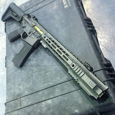 Salient Arms International GRY (AR15) SBR in .223 Wylde and currently testing and finalizing 300 BLK.