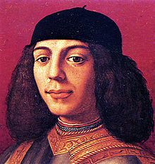 Piero de' Medici (15 February 1472 – 28 December 1503), called Piero the Unfortunate, was the Gran maestro of Florence from 1492 until his exile in 1494. The older he got the more violent and arrogant he became. Left public affairs and supervision of the bank to others.