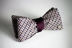 I am enjoying the comeback that bow ties are making! Awesome!  Title of Work Sterling Circle wool bow tie, $175, at titleofwork.com