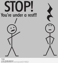 Heh. Musical Punctuation humour.