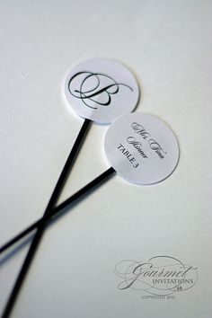 Escort cards made into stir sticks! That is exactly what we did.  Each guest had a drink with a stir sticks to guide them to their table. Be sure to pin for later or click to see the other details.