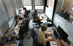 Open Offices Are a Capitalist Dead End Real Estate (Commercial) Co-Working Workplace Environment Start-ups Dead Ends, Open Office, Co Working, Free Space, Ny Times, Workplace, Offices, York, Programming