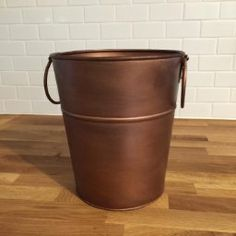 Amazon.com: BREKX Berkshire Copper Finish Wine Bucket, Small, Gold: Kitchen & Dining