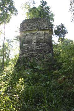 Torre Corozal, Petén. Guatemala. Maya archaeology.