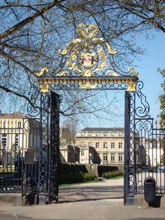 Portail Jardin Public, Cours,de Verdun