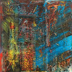 Watch a short video of Gerhard Richter's stunning abstract painting 'Blue' on the official Gerhard Richter website: www.gerhard-richter.com