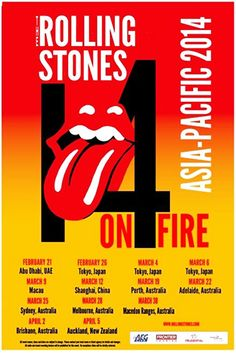 The Rolling Stones - 14 On Fire Tour - Asia-Pacific