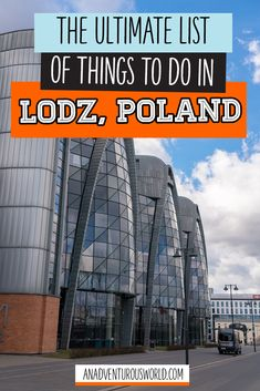 The Ultimate List Of Things To Do In Lodz, Poland - Lodz Is Fast Becoming One Of The Best Budget Destinations In Europe. In the event that Youre Planning A Cheap Getaway, These Are The Best Things To Do In Lodz Click Through To Read The Full Post Finland Travel, Denmark Travel, Norway Travel, Europe Travel Guide, France Travel, Travel Destinations, Cheap Weekend Getaways, Estonia Travel, European Travel