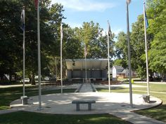 Veteran's Memorial Park - Rock Falls, Illinois  www.visitrockfalls.com