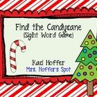 "$Print desired Sight Word Lists. Place the Christmas Trees in the pocket chart. Place the candy cane behind 2 sight words. Students have to ""loo..."