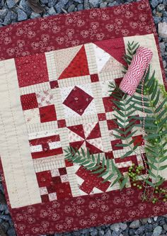 Temecula Quilt Company: Christmas Past Finishing Instructions, 12/24/14.