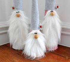 Pre šikovné mamičky .. Vyrobte si škriatkov na vianoce ..