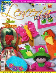 Revista lencería para el hogar
