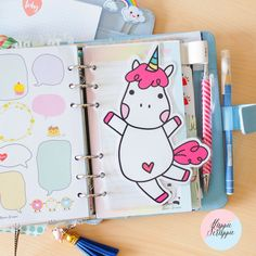 Dashboards & Page Markers : Sarazorel's Super Size Pudgy Unicorn