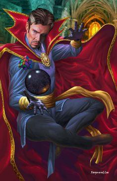 Doctor Strange Rubik's Cube - Raymund Lee