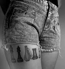 Resultado de imagem para alice in wonderland tattoo