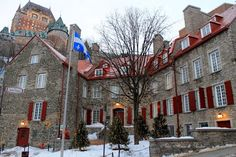 Aiken House & Gardens: December in Old Quebec Quebec Montreal, Old Quebec, Quebec City, O Canada, Canada Travel, Destinations, Northern Exposure, Most Beautiful Cities, Amazing Places