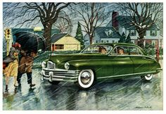 Packard Drivers Make Their Own Weather | 1948 Packard
