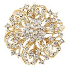 EVER FAITH Flower Bouquet Brooch Clear Austrian Crystal Gold-tone A02444-4 EVER FAITH http://www.amazon.com/dp/B00MYM9C2O/ref=cm_sw_r_pi_dp_IXKKvb1XVW173