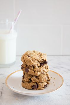 Is there anything better than chocolate chip cookies baking in the kitchen? Probably not. Better still, I stumbled upon the...