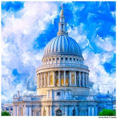 St. Paul's Cathedral by Mark E Tisdale