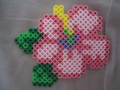 Hibiscus perler beads by *PerlerHime on deviantART