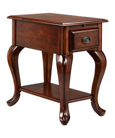 Another great find on #zulily! Golden Honey USB Shenandoah Accent Table #zulilyfinds