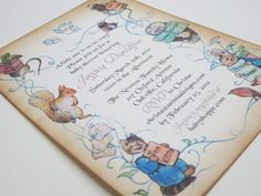 Baby Shower Invitation  Peter Rabbit  vintage by anistadesigns, $80.00