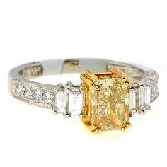 yellow diamond; $9500