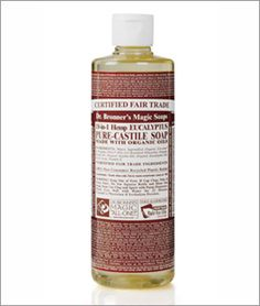 Dr. Bronners - Huge jug of this seriously lasts forever