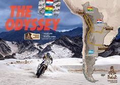 From Asunción to Buenos Aires via La Paz, here is the route of the Dakar 2017!