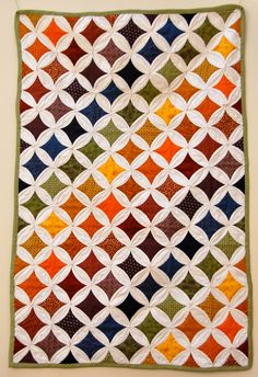 Vast Public Indifference: Cathedral Window Quilt