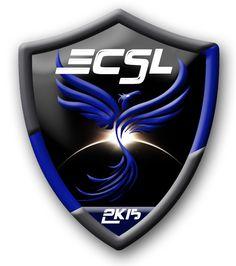 Logo crée pour la team ECSL de Counter Strike.
