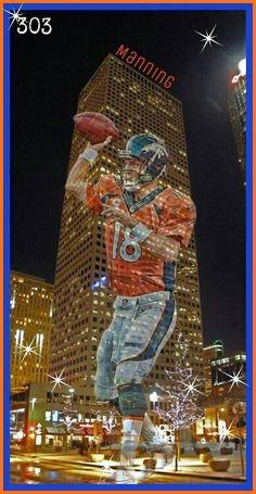 (1) Peyton Manning Denver Broncos