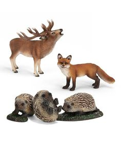 Look what I found on #zulily! Forest Figurine Set by Schleich #zulilyfinds