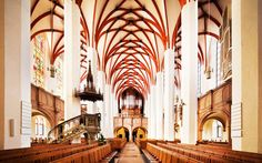 An organist will perform Bach's music in the churches where he wrote it.