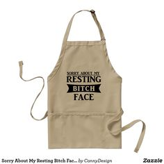 cute beige bbq/cooking apron with elegant scripted lettering showing the word 'his' on the front. Matching apron with the word 'hers' available here. Bbq Apron, Chef Apron, Apron Diy, Tool Apron, Grill Apron, Barbie, Kiss The Cook, Before Wedding, Apron