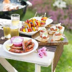 Great recipes and ideas for a BBQ party!