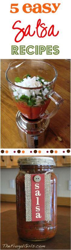 Easy Salsa Recipes! [ MexicanConnexionforTile.com ] #food #Talavera #Mexican